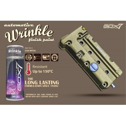Wrinkle - gun metal