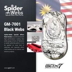 Spider Webs-Black Webs