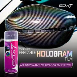 Nano Peelable Hologram film...